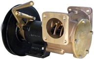 "2"" bronze pump, <b>270-size</b>, foot mounted with flanged ports"