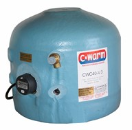 Compact 40 litre Vertical Water Storage Heater